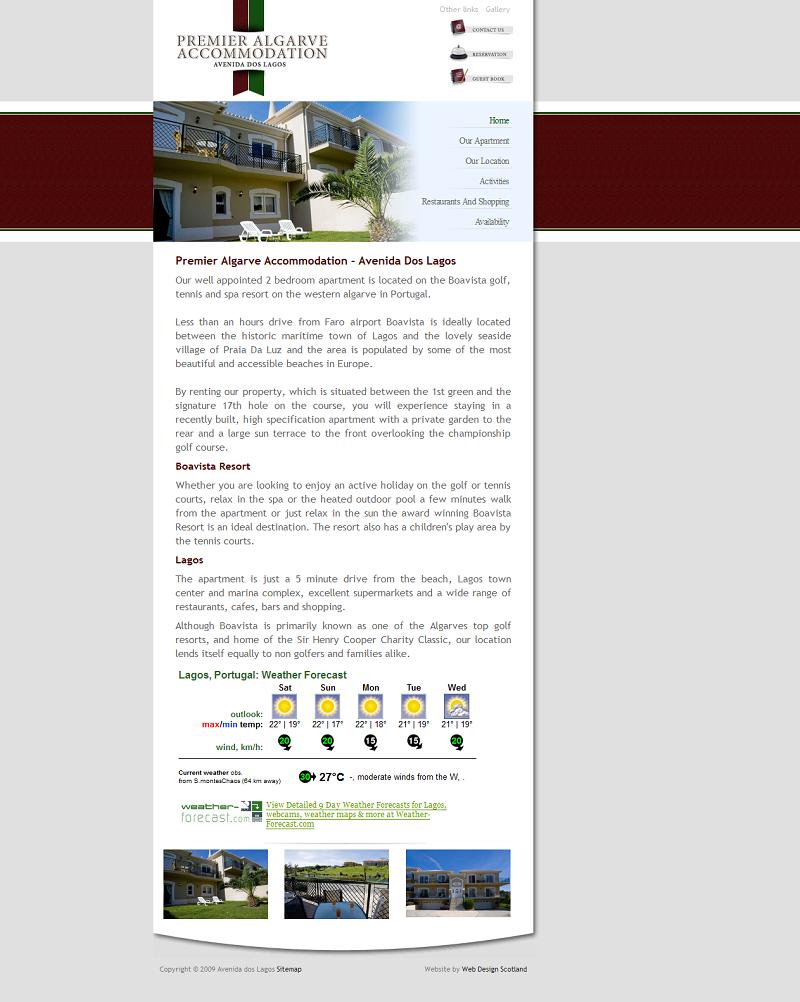 Premier Algarve Accommodation