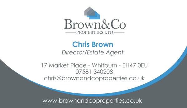 Brown and Co Properties Stationary
