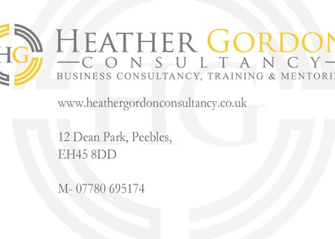 Heather Gordon Consultancy Stationary