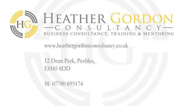 Heather Gordon Consultancy Stationary