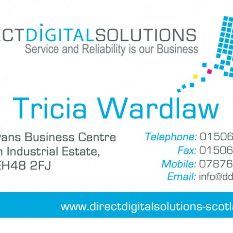 Direct Digital Solutions Business Card