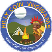 Hilly Cow Wigwams Logo