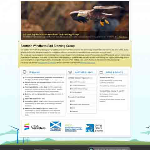 Scottish Windfarm Bird Steering Group