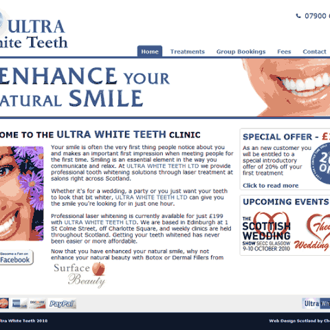 Ultra White Teeth