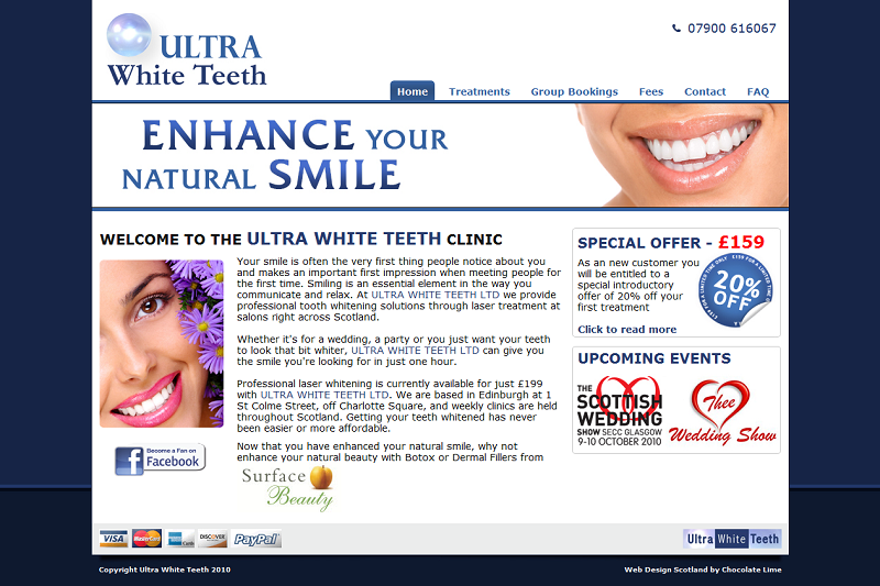 Ultra White Teeth