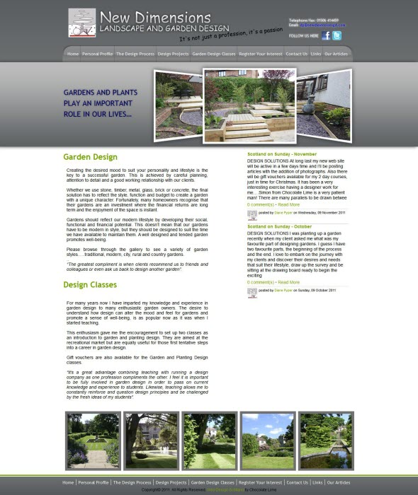 New Dimensions Garden Design